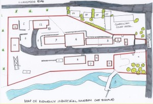 Plan of Kidwelly Industrial Museum