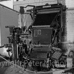 Carmarthen Journal printing press